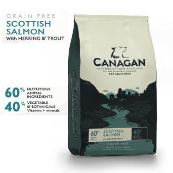 Canagan Dog Grain Free cu Somon 2 kg