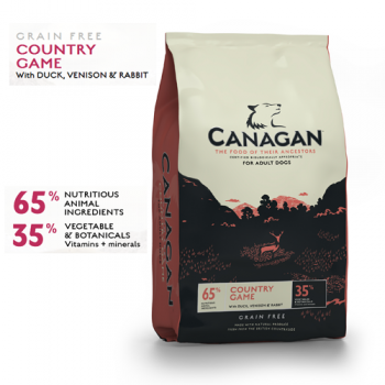 Canagan Dog Grain Free cu Vanat 2 kg