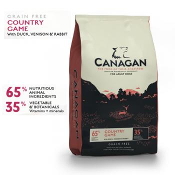 Canagan Dog Grain Free cu Vanat 2 kg