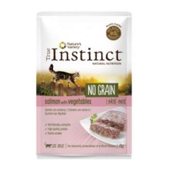 True Instinct Cat No Grain Somon si Legume, 70 g