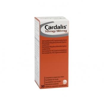Cardalis L 10 mg / 80 mg, 30 Tablete