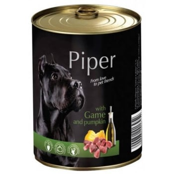 Piper Adult cu Carne de Vanat si Dovleac, 400 g imagine
