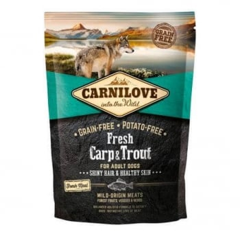 Carnilove Fresh Carp and Trout, Healthy Skin for Adult Dogs 1.5 kg
