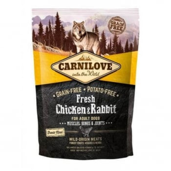 Carnilove Fresh Chicken and Rabbit, Bones and Joints for Adult Dogs 1.5 kg
