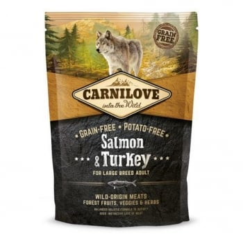 Carnilove Large Breed Adult Somon si Curcan, 1.5 kg