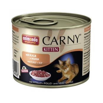 Carny Kitten Vitel si Pui 200 g