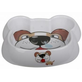 Castron Melamina Dog Face, 300 ml imagine