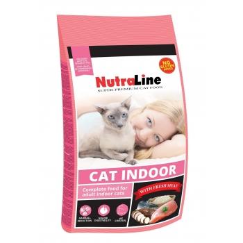 Nutraline Cat Indoor 400 g imagine