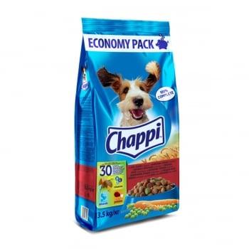 CHAPPI Vită, Pasăre și Legume, hrană uscată câini, 13.5kg