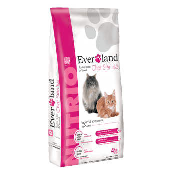 Everland Nutrio Cat Sterilised, 4 kg