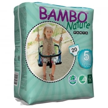 Chilotei  Bambo Nature ECO Pants Junior Nr. 5, 12-20 kg, 20 buc