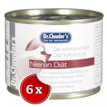 Pachet 6 Conserve Dr. Clauder's Renal, 200 g imagine