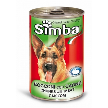 Conserva Simba Dog  cu Vitel 415 g