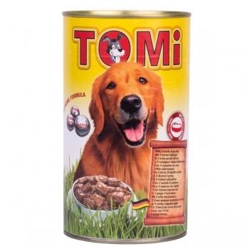 Conserva Tomi Dog Cu 3 Feluri Pasare  1200 G