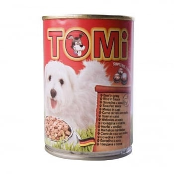 Conserva Tomi Dog cu Vita, 400 g