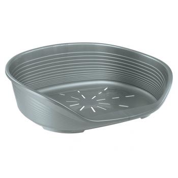 Cos Plastic Siesta Deluxe 2 Argintiu (49 x 36 x h 17.5 cm)