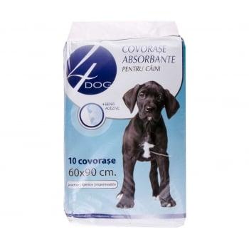 Covorase Igienice 4Dog 60 x 90 cm, 10 Buc