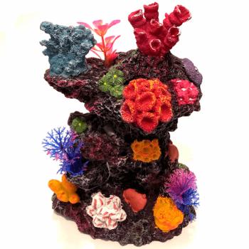 Decor pentru acvariu Enjoy Coral 14.5 x 10.5 x 19 cm imagine