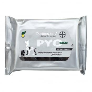 Dermoscent PYOclean Wipes 20 servetele imagine