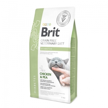 Brit VD Grain Free Cat Diabetes, 5 kg