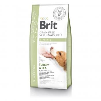 Brit Grain Free Veterinary Diets Dog Diabetes 12 kg imagine