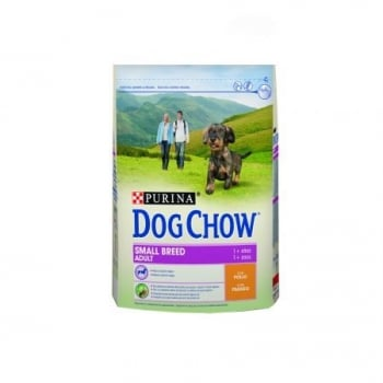 Dog Chow Small Breed Adult cu Pui, 2.5 kg