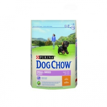 Dog Chow Puppy Small Breed cu Pui, 2.5 Kg