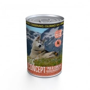 Dog Concept Conserva Curcan Si Pui, 415 g imagine