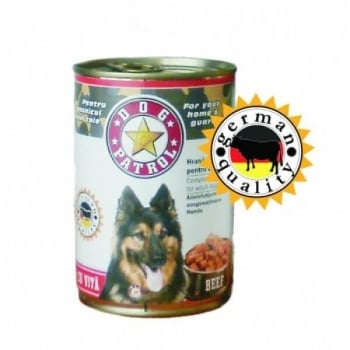 Hrana Umeda Dog Patrol cu Vita, 415 g