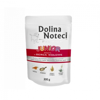 Dolina Noteci Plic Junior Inima Vita 300 g imagine