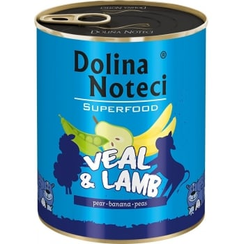 Dolina Noteci Superfood Dog Vitel si Miel 800 g