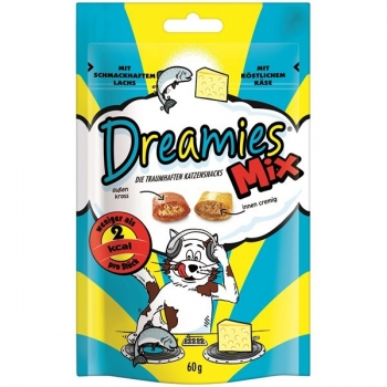 DREAMIES MIX SOMON / BRANZA 60 G imagine