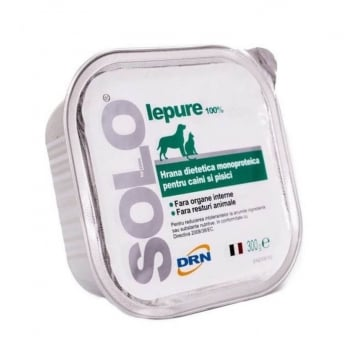 Solo DRN Dog Cat Iepure, 300 g