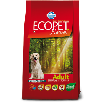 Ecopet Natural Adult Medium Breed 12 kg