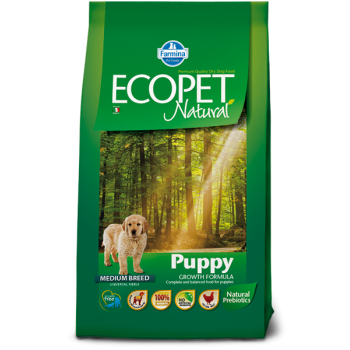 Ecopet Natural Puppy Medium, 2.5 kg