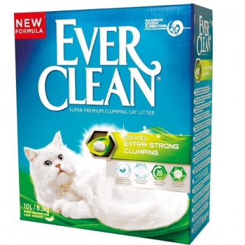 Ever Clean Extra Strong Clumping Parfumat, 10L