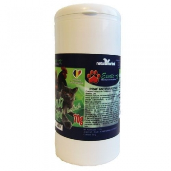 Exotic-K Praf Antiparazitar Herbal 70 g imagine