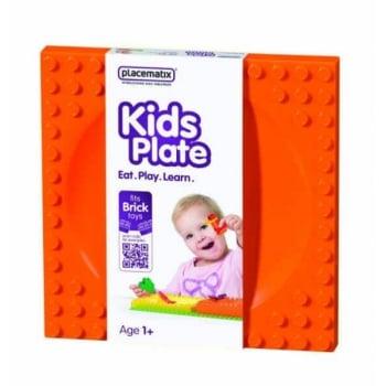Farfurie Hranire Placematix Pentru Copii, Orange