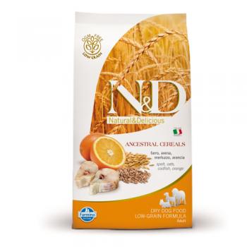 N&D Low Grain Adult Peste si Portocale 12 kg