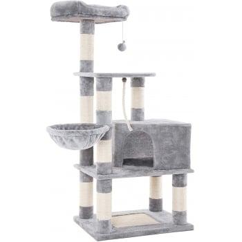 Feandrea Ansamblu de Joaca Pisici Multilevel Gri, 138 cm imagine