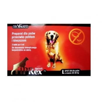 Fiprex Dog, 75 L, 3 pipete