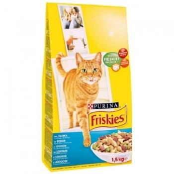 Friskies Cat Somon si Legume, 1.5 kg