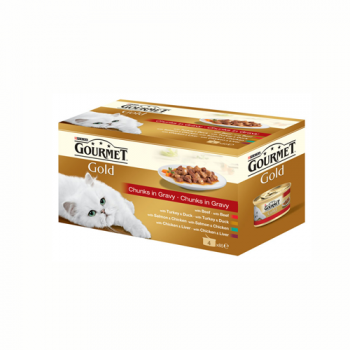 Gourmet Gold Double Pleasure Multipack 4 x 85 g