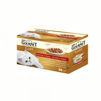 Gourmet Gold Double Pleasure Multipack 4 x 85 g