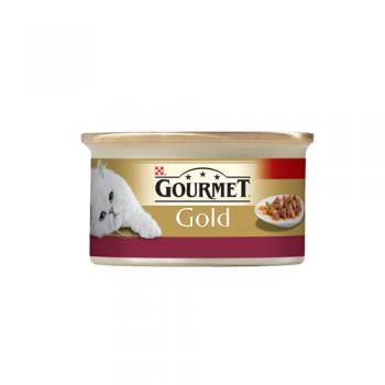 Gourmet Gold Cuburi Pui si Ficat in Sos 85 g