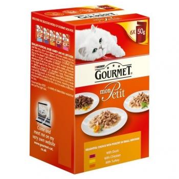 Gourmet Mon Petit cu Pui, 6 X 50 g