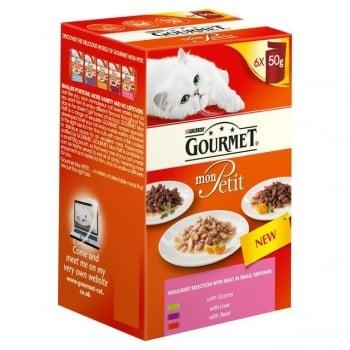 Gourmet Mon Petit cu Vita, 6 x 50 g