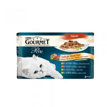Gourmet Perle Duo Multipack Carne 4 x 85 g