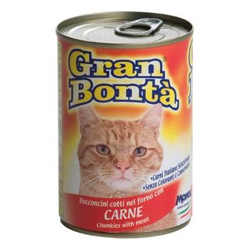 Conserva Gran Bonta pentru Pisici cu Vita 400 g