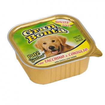 Gran Bonta Dog Iepure, Pate 300 g imagine